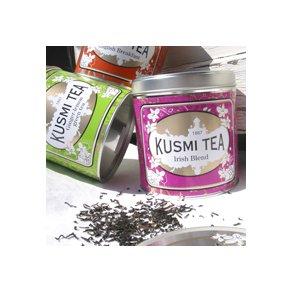 Kusmi te, løsvægt, dåser + tebreve