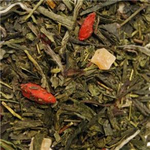 Grøn & hvid te mix