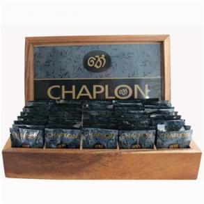 Chaplon præsentationsæske m. 50 tebreve